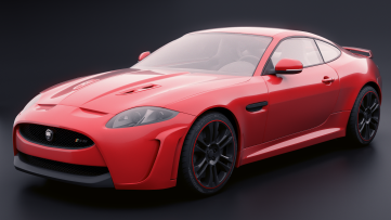 """Jaguar"" Credit: Blazraidr (Blenderartists.org)"
