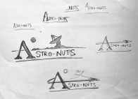 'Astro-Nut' Cap Design Sketches