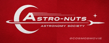 'Astro-Nut' Design on Material Background