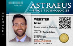 ASTRAEUS ID Card - Final Design