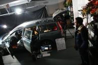 Interior Car scenes, shot in a garage
